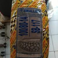 harga Ban Semi Cross Matic Swallow SB117 Street Enduro 100/80 - 14