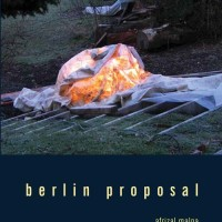 Berlin Proposal: Kumpulan Puisi Afrizal Malna