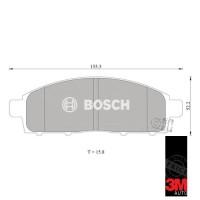 Toyota Camry Kampas Rem Depan Mobil (Brake Pad) Bosch