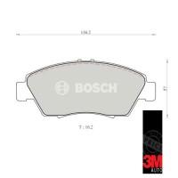 Accord Cielo Kampas Rem Depan Mobil Honda (Brake Pad) Bosch