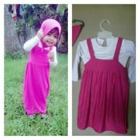 Baju Masha (4-6th), Gamis Anak Muslim Marsha Marsya Masya