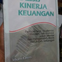 analisis kinerja keuangan by irham fahmi