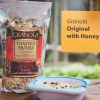 Granola muesli ori with honey/sereal makanan sehat