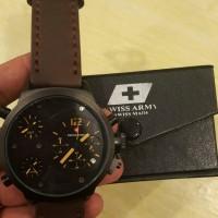 jam tangan swiss armi triple time
