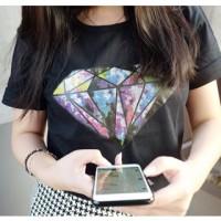 diamond tee branded kaos wanita tumblr hot pants jegging bra cd tas