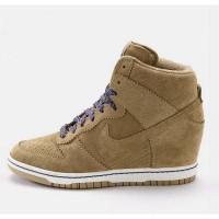 Sneakers Wedges Nike Sky High Dunk Brown