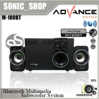 Advance Speaker Active M-180BT USB + SDCard + Bluetooth dan FM