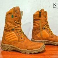 kickers delta boot safety kulit suade