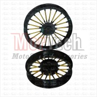 harga Velg Racing Lebar Power Andong Vario 110 Hitam Gold Tokopedia.com
