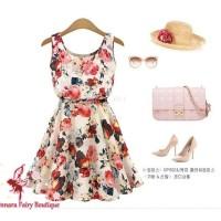 Summer Dress Flower - soft pink
