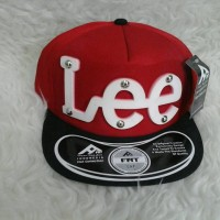 harga Topi Snapback LEE Red TSP10815 Tokopedia.com