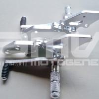 harga Footstep Depan / Underbone New Vixion Full Cnc Impor J Speed Silver Tokopedia.com
