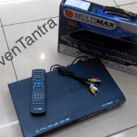 DVD Player MultiMax (USB / Mp3 / Mp4 / Anti Shock / Multi Language)