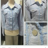 harga Bolero/jacket Jeans Jumbo Ori Alfonso Dominguez Bigsize Tokopedia.com