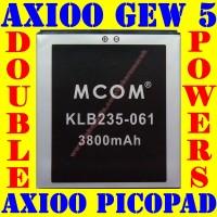 Baterai Batrai Batere Batre Axioo Picopad 5 GEW M COM