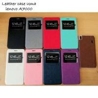 Leather Case Softshell Call ID Uma Lenovo A7000