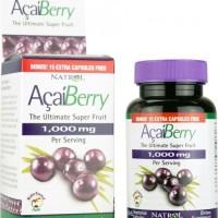 NATROL ACAI BERRY 1000 MG Antioksidan, Pelangsing, Penurun Berat Badan
