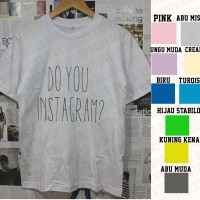 Kaos Taeyeon Do You Instagram / Kaos kpop / Kaos SNSD