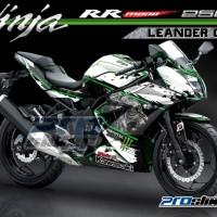 harga Decal Kawasaki Ninja Rr Mono 250cc Motif Simpel Leander Prostiker.com Tokopedia.com