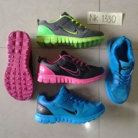 Sepatu Olahraga NIKE 37-40 Free Sport Shoes Senam Fitness Kets Aerobik