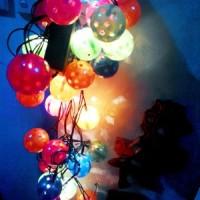 Jual Lampu Kilat Hiasan Pohon Natal 100L Mini Christmas Tree Ornament Murah