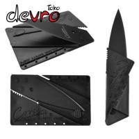 Pisau Lipat Kartu - Sinclair Cardsharp Hidden Knife - Black
