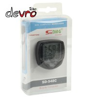 Speedometer Sepeda - Wireless dan Waterproof - SD548 - Black