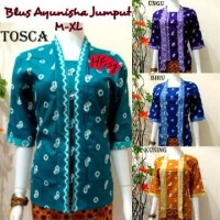 harga Blus Ayunisa Jumput,baju Murah, Atasan, Batik Kerja Modern,baju Etnic Tokopedia.com