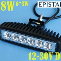 harga 18W LED BAR OFFROAD DRL OFF ROAD Work Light mobil motor 6x3W 10-30v Tokopedia.com