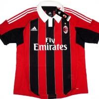 harga Original Jersey Ac Milan Home 2012/2013 Youth Season / Musim (w37478) Tokopedia.com