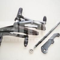 harga FOOTSTEP DEPAN / UNDERBONE SATRIA FU 150 FULL CNC IMPOR BLACK Tokopedia.com