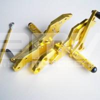 FOOTSTEP DEPAN / UNDERBONE VIXION LAMA (OLD) FULL CNC IMPOR GOLD