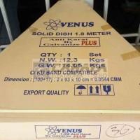 harga Venus Solid 6 Feet Galvanis Parabola Dish C Ku Band Lengkap Antena Tokopedia.com
