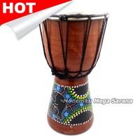 harga Pajangan Miniatur Alat Musik Jimbe - 50x20x20 Cm Tokopedia.com