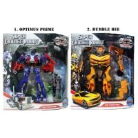 Transformer Super Change Medium Robot Optimus / Bumble Bee