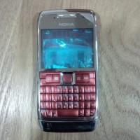 Casing Nokia E71 fullset [merah]