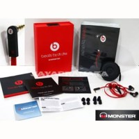 Monster Beats Tour In-Ear by DR.Dre BLACK 100% IMPORT Bass MANTAPPP