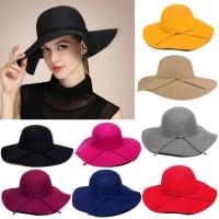 harga Topi Floppy Hat, Topi Pantai , Topi Lebar Tokopedia.com