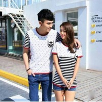 harga Baju Couple Sailor Pocket Tokopedia.com