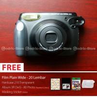 Fujifilm Kamera Polaroid Instax Wide 210 + Free Gift