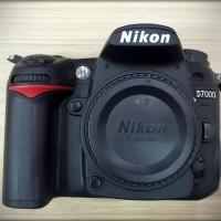 NIKON D7000 Body Only - Garansi Resmi Nikon 1 Tahun *no Box