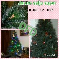 harga Pohon Natal Tinggi : 2,1 Meter Jarum Salju Super ( Kode : P-005 ) Tokopedia.com