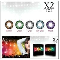 Softlense X2 Pop 14,5 mm (6 bulan) No Minus Lensa Kontak Murah