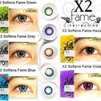 Softlense X2 Fame 14,5 mm (6 bulan) No Minus Lensa Kontak Murah