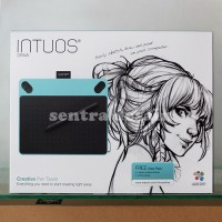 Jual Wacom Intuos Draw CTL490 Blue Pen Tablet Alat Desain Grafis Biru Murah