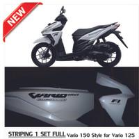 Striping/ Sticker/ Stiker Motor Honda Vario 150 Style For Vario 125