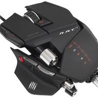 PC MCZ R.A.T.7 Mouse (White / Red / Glossy Black / Mattle Black)