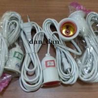 harga Fitting Gantung Lampu + Saklar On Off 3 Meter Tokopedia.com