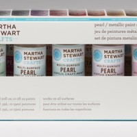 Arcylic Paint Martha Stewart Pearl / Metallic Set 10 / Set