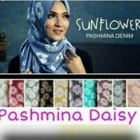 Pashmina Ori Umama Motif Sunflower